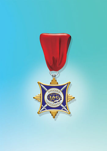 Medal of the International Advisory Committee of the Organization of Reserve Officers OFFICERS'SOLIDARITY