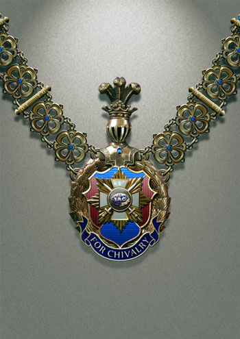 Order of the International Advisory Committee of the Organization of Reserve Officers FOR CHIVALRY
