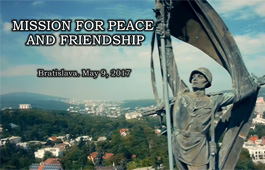 The Mission of Peace and Friendship. Bratislava 2017