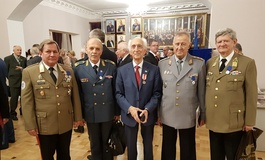 Members of the IАC Presidium at the Celebrations of 25th Anniversary of Association «Megapir»