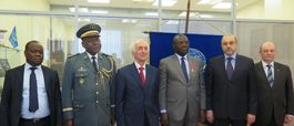 MEETING WITH THE DELEGATION OF THE MINISTRY OF NATIONAL DEFENSE OF THE REPUBLIC OF CONGO